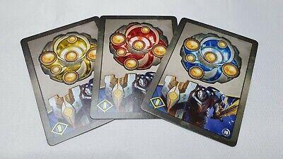 Game Kit Keys Set - Sanctum Keyforge FFG Promo 3 Cards