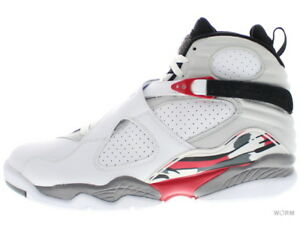 317b7fb4db7c AIR JORDAN 8 RETRO CDP 305381-103 white black-true red 8 Size 11.5 ...