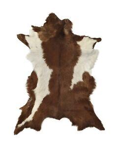 Goat Skin Rug Animal Pelt Floor