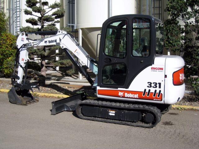 Bobcat X331 X331e X334 331 331e 334 Mini Excavator