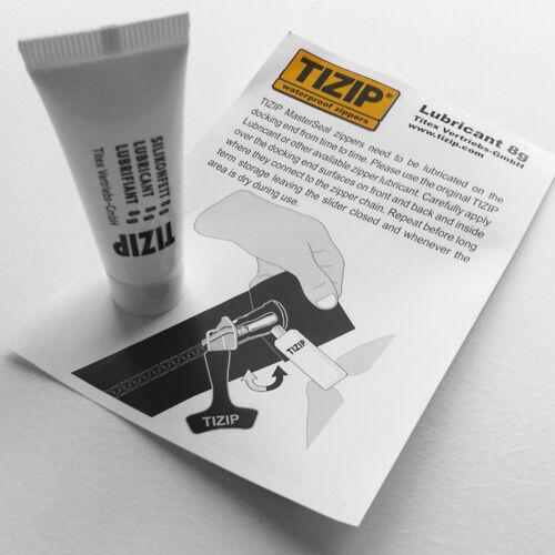 TIZIP Imperméable Fermeture Éclair Soins Zip Lubrifiant 8 g-Drysuit//combinaison//Plongée//Ortlieb sac
