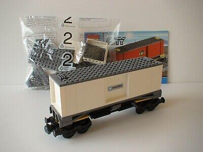 7898 LEGO® Eisenbahn Transportwaggon schwarz für 4512 60052 7939 60198