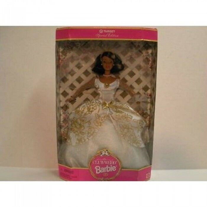 Barbie Club Wedd Collectable Wedding Barbie 1997 Damaged Box