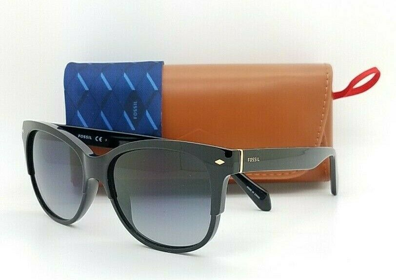 NEW Fossil sunglasses FOS 3073/S 80790 Black Grey AUTHENTIC Fossil 3073 classic