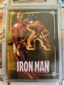 2015 Upper Deck Iron Man Comic Con Exclusive Embedded Patch Card Marvel Comic NM