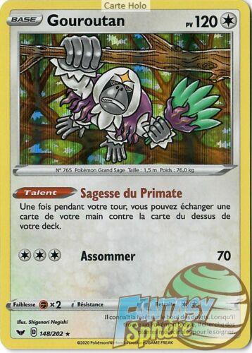 Pokemon-gouroutan-holo rare 148//202 eb01 air shield-vf francais