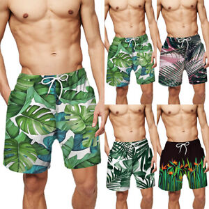 Men-039-s-Swim-Trunks-Beach-Holiday-Board-Shorts-Quick-Dry-Bathing-Suits-Shorts