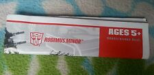 Transformers ANIMATED RODIMUS MINOR INSTRUCTION BOOKLET ONLY AUTHENTIC