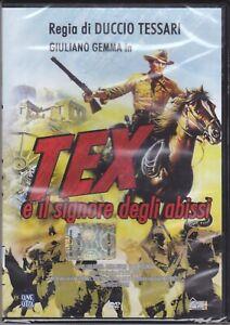 Dvd-TEX-E-IL-SIGNORE-DEGLI-ABISSI-con-Giuliano-Gemma-nuovo-1985