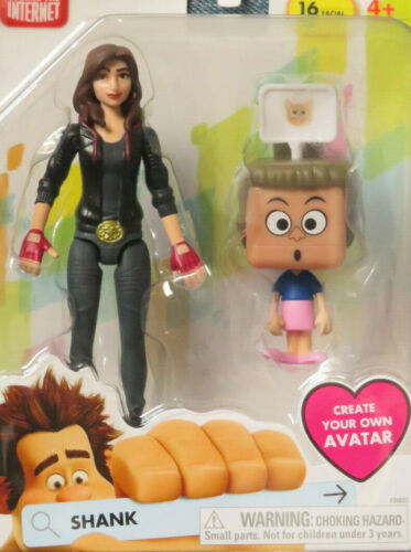 Disney Ralph Breaks The Internet Shank Figure w//Create Your Own Avatar Figure