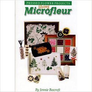 Using-Microfleur-Pressed-Flower-Projects-book-Jennie-Beecroft-press-pressing