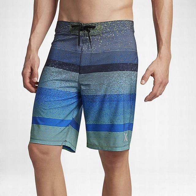 f92700bb0d Buy Hurley Phantom Zion Mens Board Shorts 33 Neon Green 33 online | eBay