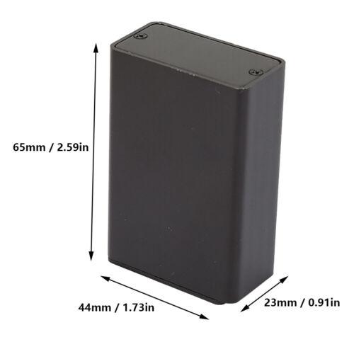 Details about  /Good Heat Dissipation Aluminum Project Box 23*44*65mm Shielded Aluminum