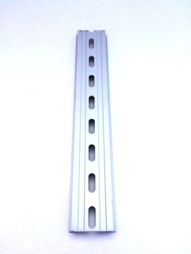 long 35mm 7.5mm 13.33 ft Total 20 Pieces DIN Rail Slotted Aluminum RoHS 8 in