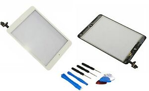 iPad-Mini-Digitizer-Touch-Screen-Screen-with-IC-Chip-White-Tool-Display