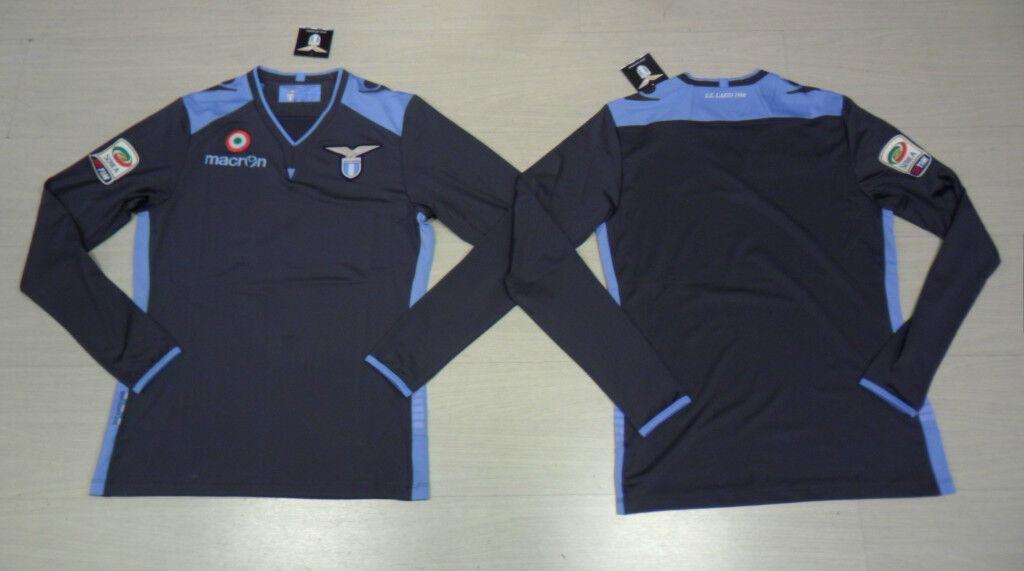 FW13 Lazio Size L Macron T-Shirt Goalkeeper Gk Goal Keeper Shirt  30