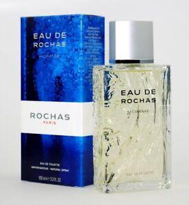 2ec7b4e48 EAU DE ROCHAS HOMME by Rochas Eau De Toilette 3.3   3.4 oz Men New ...