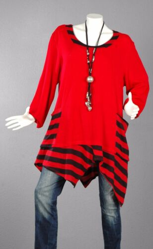 54 2 Pullover Trend 112 Tunika Bluse Shirt Lagenlook Top Langer A line 8X0kwOPn