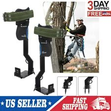 New Listingadjustable 2 Gears Tree Climbing Spike Set Safety Belt Lanyard Rope Rescue Belt
