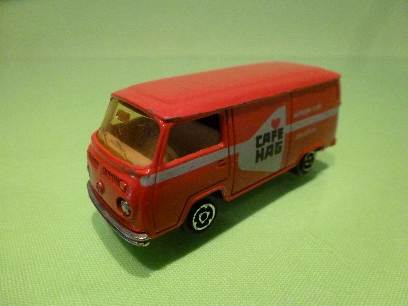 MAJORETTE 1 60  VOLKSWAGEN T2  FOURGON FOURGON FOURGON   -  CAFE HAG  - GOOD CONDITION d2c0d5