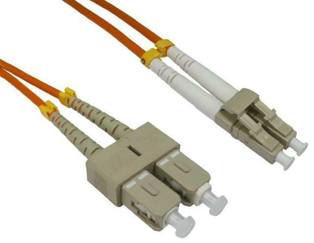 LEAD FIBRE OPTIC LC-SC 50/125 OM2 1M FIBRE OPTICS LEAD ASSEMBLY - CJ64855