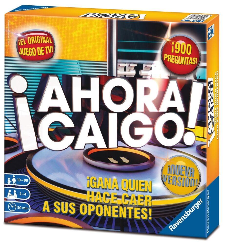 Offizielles spiel des tv wettbewerbs ahora caigo ravensburger 26758 auf spanisch