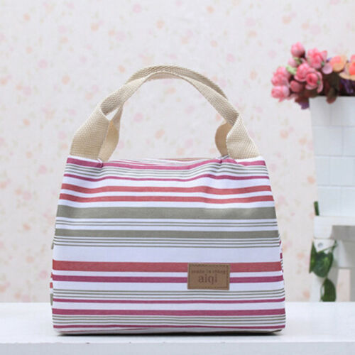 Big Insulated Lunch Bag for Women Men Thermal Cooler Lunch Box Picnic Storage