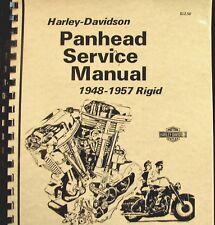 1948-1957 Panhead Harley-Davidson  Rigid  Service  Manual  Fully  Illustrated
