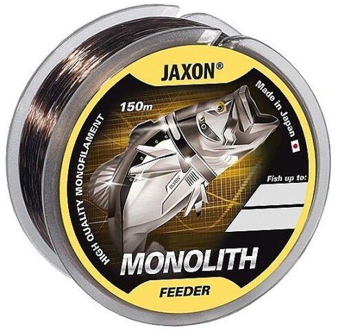 0,16mm-0,35mm Spule Monofile NEU Angelschnur JAXON MONOLITH Feeder 150m