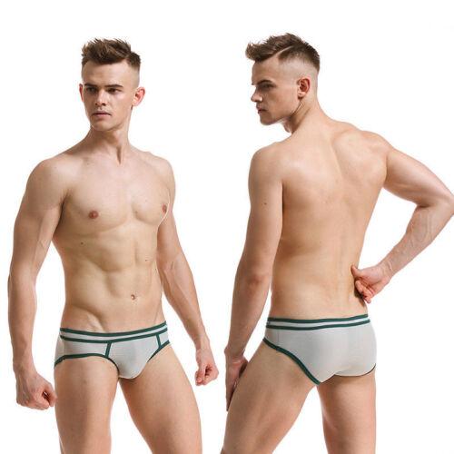 Men/'s Underwear Gift Breathable Mesh Boxer Briefs Shorts Underpants Comfort Hot
