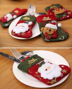 Decoracion-cena-de-Navidad-Santa-Calcetines-Tematica-Decoracion-Navidad-Fiesta-Cubiertos-Holder