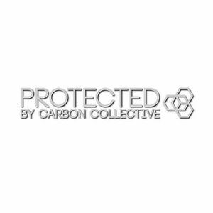 Carbon Collective Oil Slick Protected 40mm Window Sticker Free 1st Class P/&P