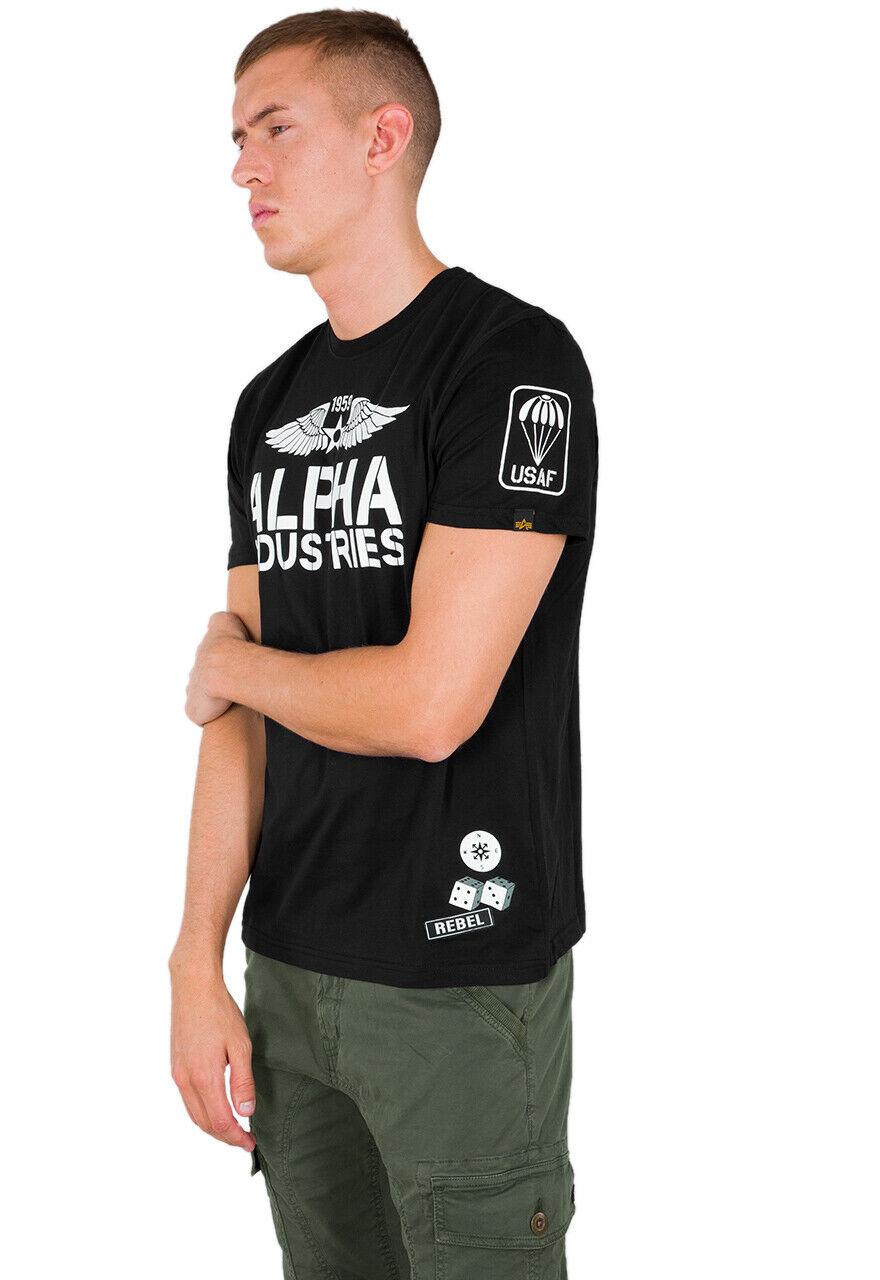 Alpha Industries Men's T-Shirt Rebel