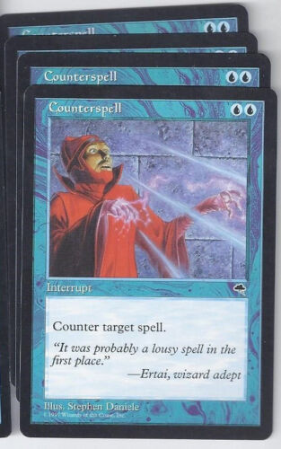 4 x Counterspell Tempest mtg Magic the Gathering