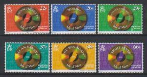 Isle-of-Man-1999-Beegees-set-MNH-SG-861-6