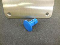 Bobs Machine Shop Pedestal Seat Plug 0.75 Blue Fits Nitro Triton Skeeter