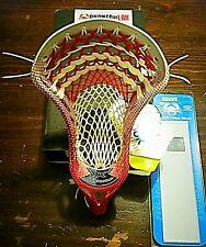 1 New Reebok 9K Lax Head Strung w/ ECD Fade Mesh