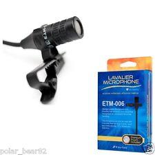 New Edutige Microphone ETM-006 Lavalier Microphone Digital Voice Recorders