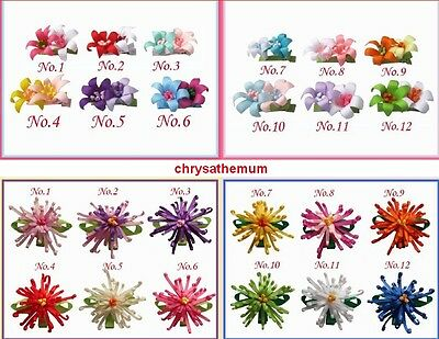 "16 BLESSING Good Girl Boutique Headband 3/"" A-chrysanthemum Hair Bow 98 No."