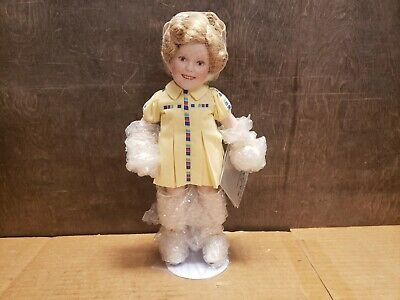 Porcelain Doll From the Shirley Temple Movie Classics By Danbury Mint by Danbury Mint Stowaway
