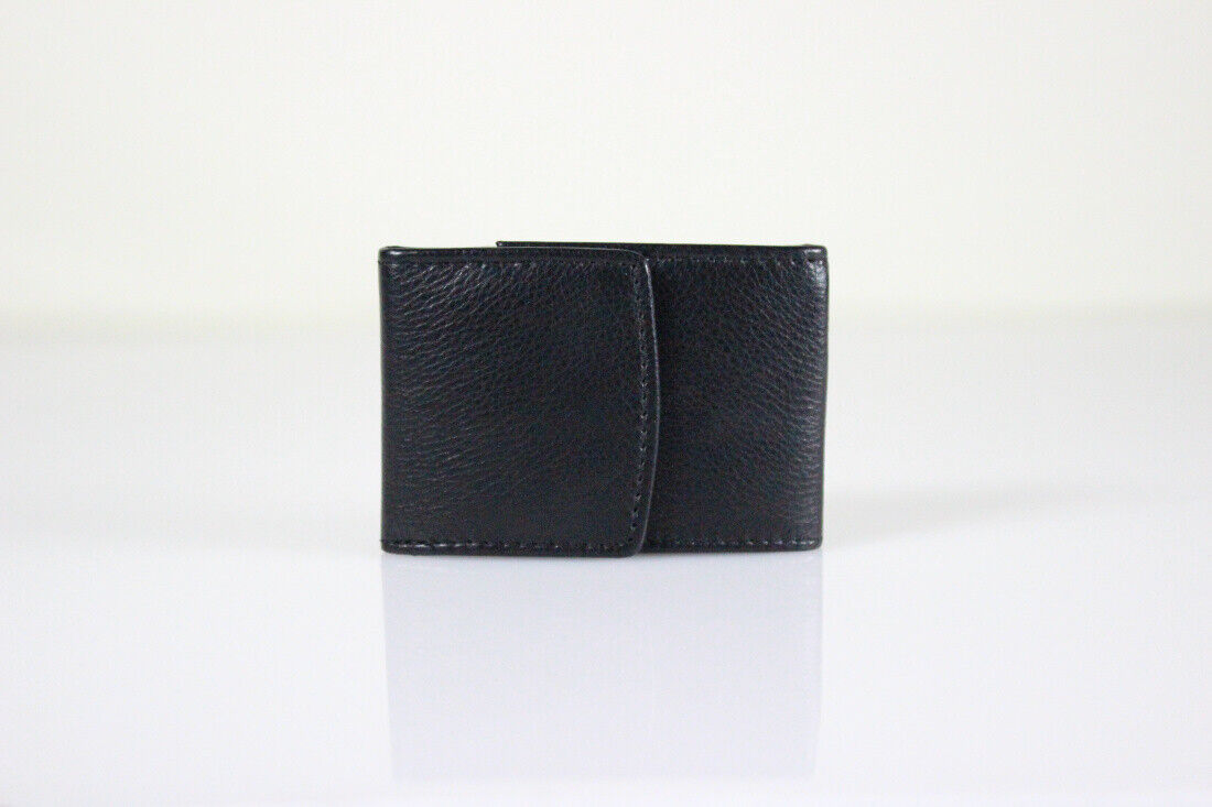 Small Men's Wallet Nappa Leather Belt Bag Wallet for The Belt Leather