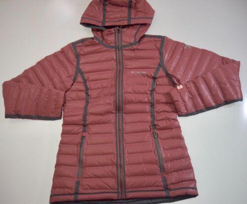 Outdry m Jacket Columbia Rust Gold Ex s xl Womens Waterproof Xs Down Hooded Warm nUqwqz4X