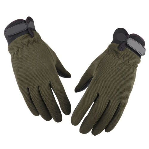 Men Anti-Slip Silicon Gloves Full//Fingerless Mountaineering Riding Outdoor Sport