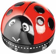 Judge Wind Up Mechanical 60 Minute Kitchen Cooking Timer Ladybird TC301