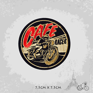 Cafe Racer Movie Patch Iron On Patch Sew On Embroidered Patch