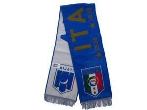 echarpe-Italia-National-FIGC-age-Monde-perdants-Bleu-Officiel-Original