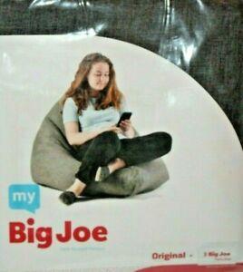 Sensational Details About My Big Joe Original Black Bean Bag Chair Cover Beatyapartments Chair Design Images Beatyapartmentscom