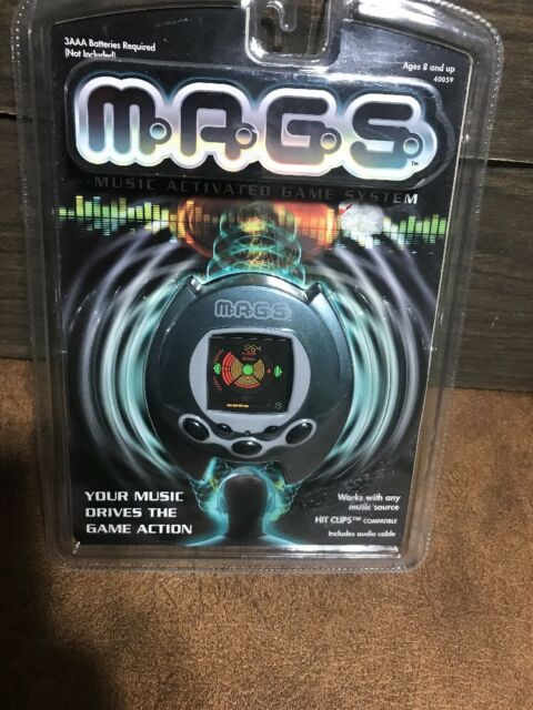 New MAGS Music Activates Game System 2001