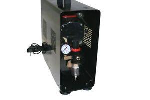 AEROGRAFO-COMPRESSORE-DOPPIO-CILINDRO-0-6-BAR-3-5L-serbatoio-d-039-aria-regolabile