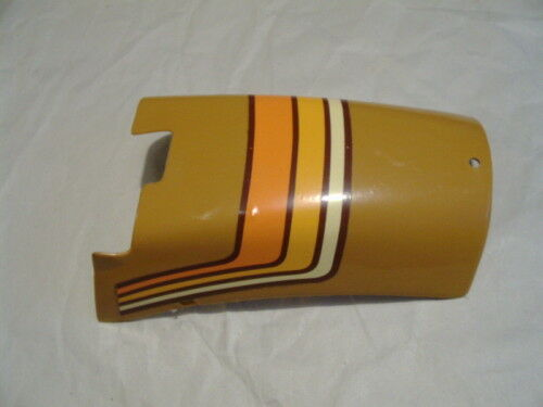 amf roadmaster moped rear fender brown nos lower
